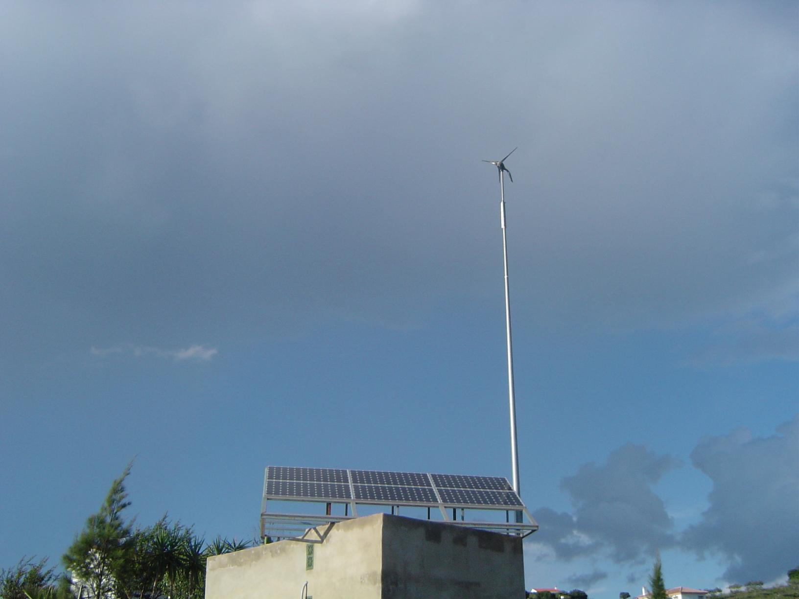 instalaciones solares mixtas